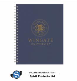 Navy Spiral Hard Cover Spiral Lined Journal Notebooks