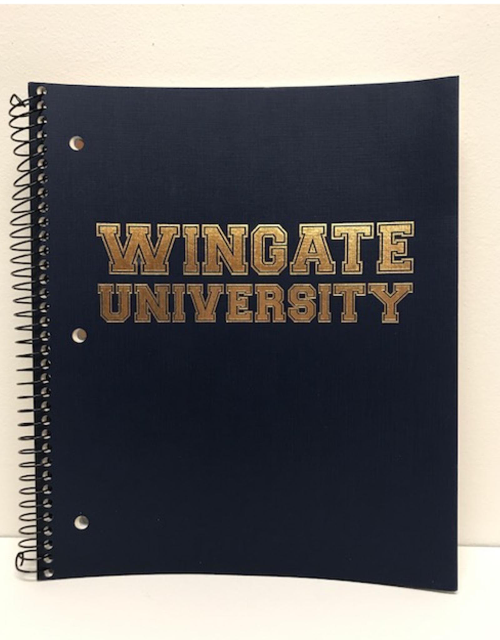 3 Subject Spiral Notebook WU