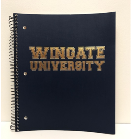 3 Subject Spiral Notebook WU