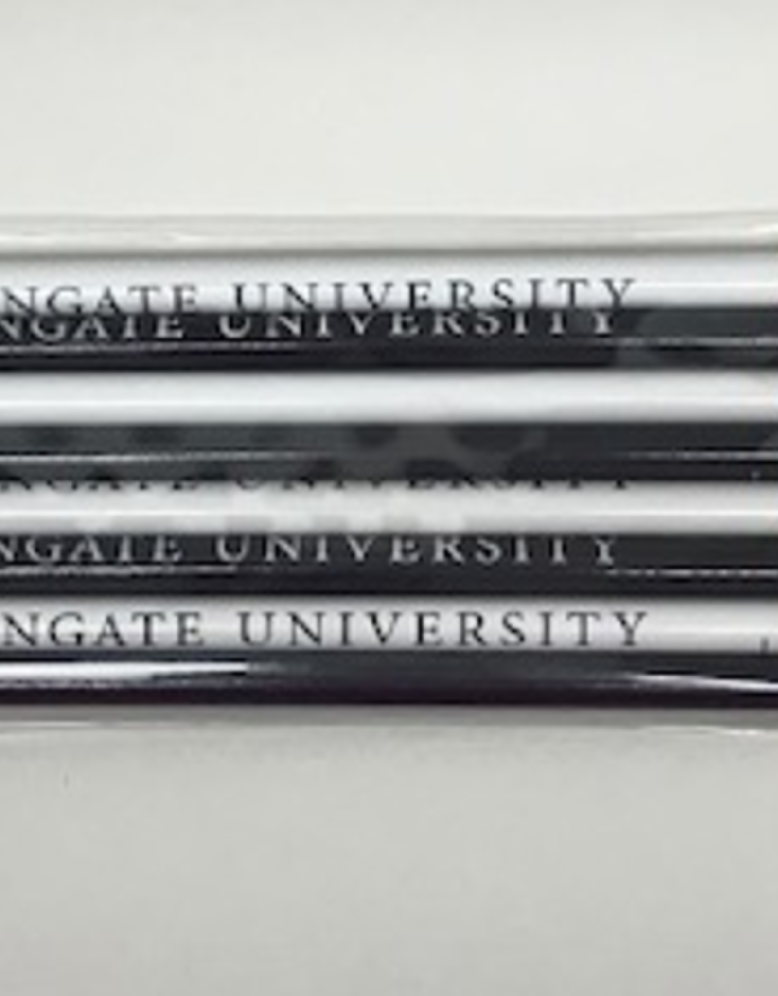Navy and White WU 8 Pack of Pencils