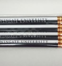 Navy and White WU 8 Pck of Pencils