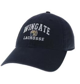 Deep Navy Wingate Dog Head Lacrosse Hat