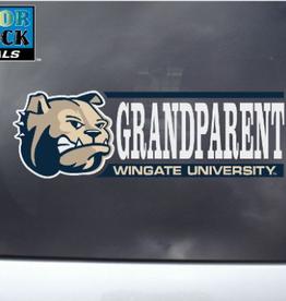 Color Shock Grandparent Decal Dog Head Bar Graph