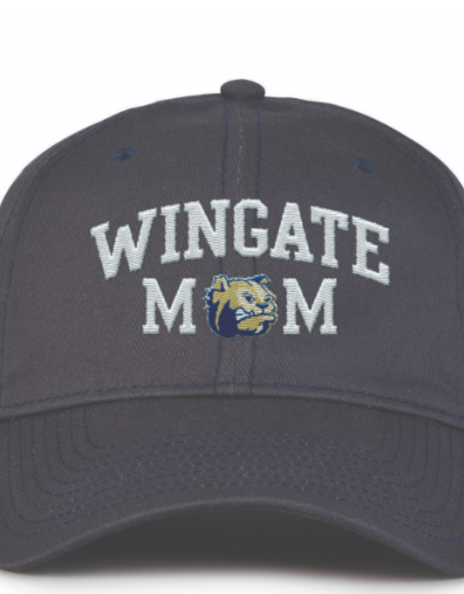 The Game Navy Mom Hat Dog Head O Unstructured Adjustable Hat
