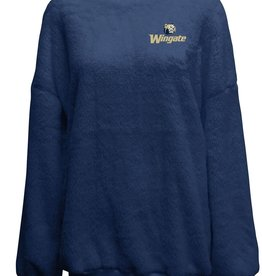 Navy Plush Crewneck