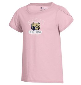 Champion Pink Youth University Girly SS Tee
