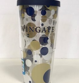 24oz Tervis Polka Dot Wrap With Lid