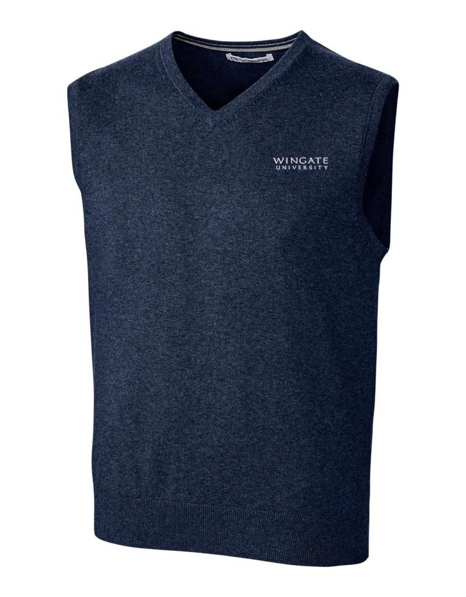 Navy Sweater Vest Wingate University