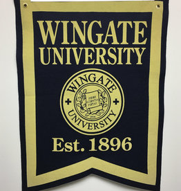 Wingate University 1896 Seal Banner
