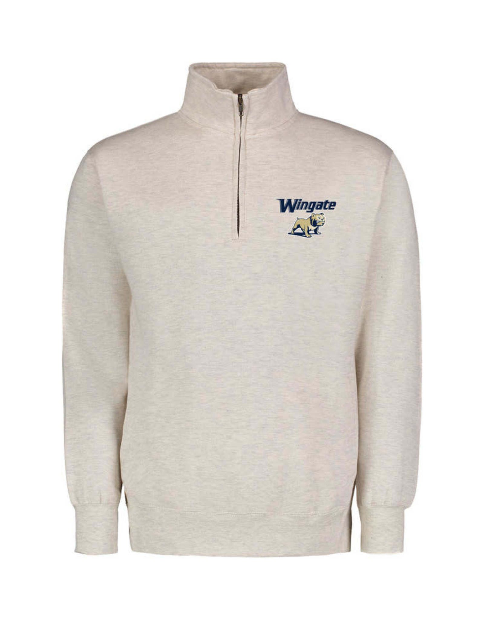 MV Sport Oatmeal 1/4 Zip Wingate Full Dog Embroidered