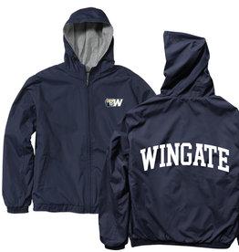 Navy Coaches Full Zip Jacket