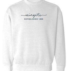White Comfort Colors Crew Sweatshirt