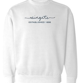White Comfort Colors Crewneck Sweatshirt