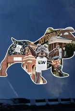 Full Bulldog Collage Decal