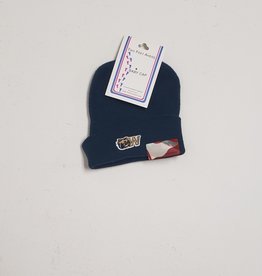Newborn Navy Knit Cap
