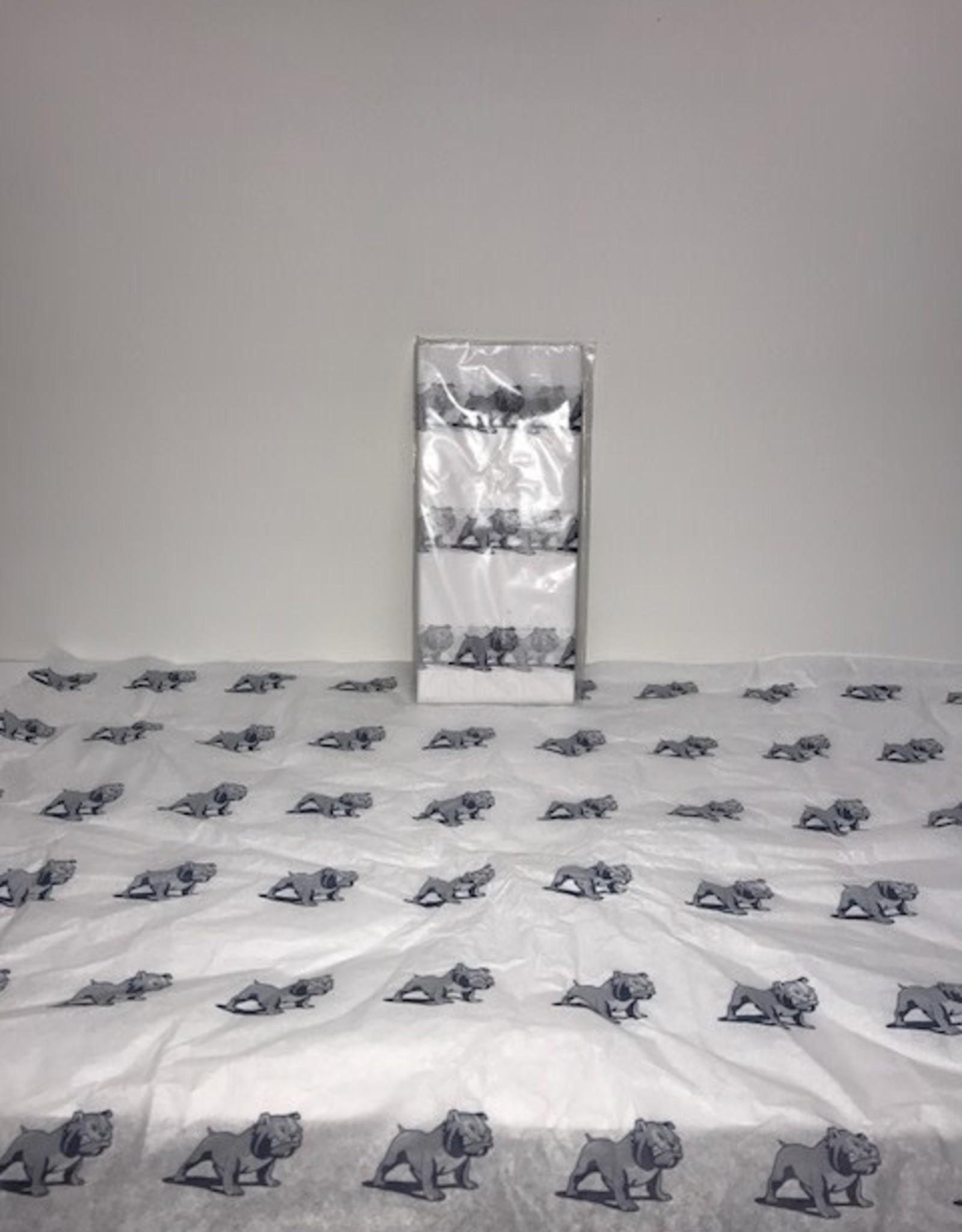 Pre-packaged Bulldog Gift tissue