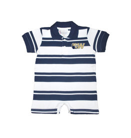 Navy Rugby Romper