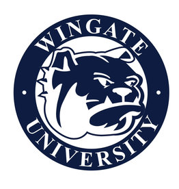 10x10 Metal Wingate University Bulldog Sign