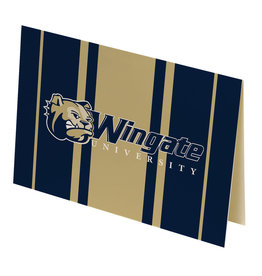 Dog Head Wingate University 10 Blank Notecards