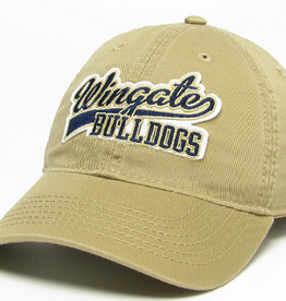 Antique Gold Wingate Over Bulldog Hat