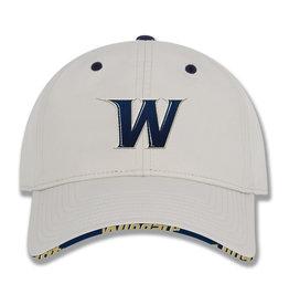 Tan Unstructured W Hat Rim Design