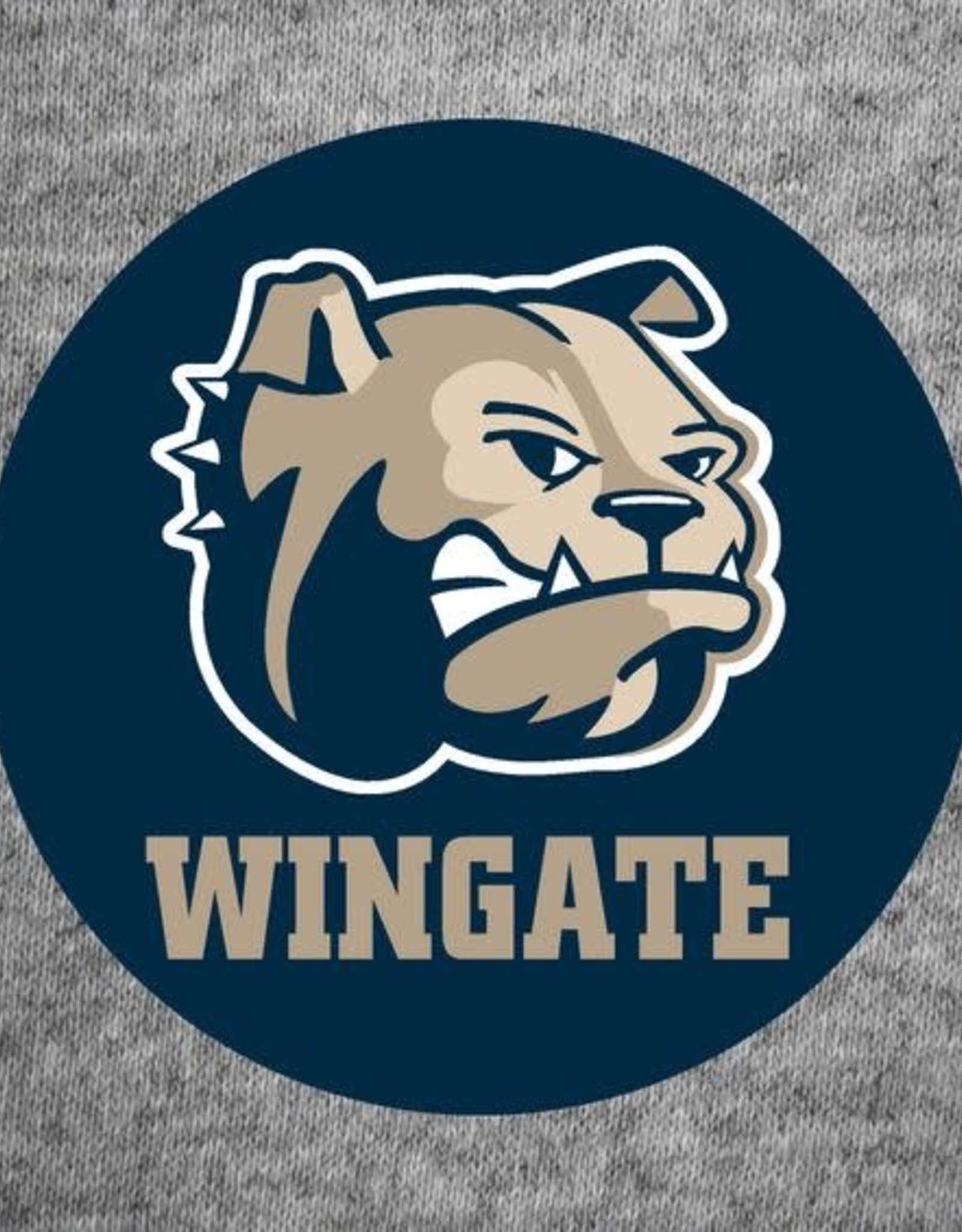 Dog Head Wingate Jumbo Button