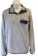Grey Snap Placket With Wingate University Est 1896 Patch