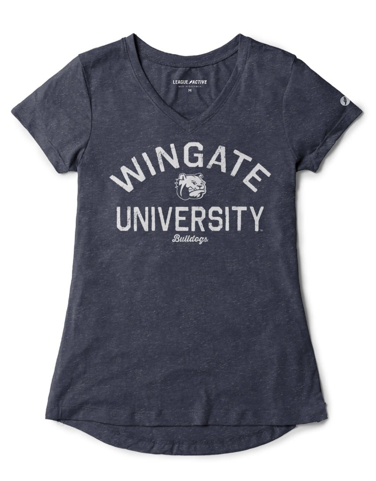Women's Triflex V-Neck Navy Heather SS