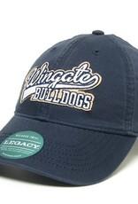 Navy Wingate Over Bulldog Hat