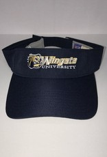 Navy Visor Dog Head Wingate University