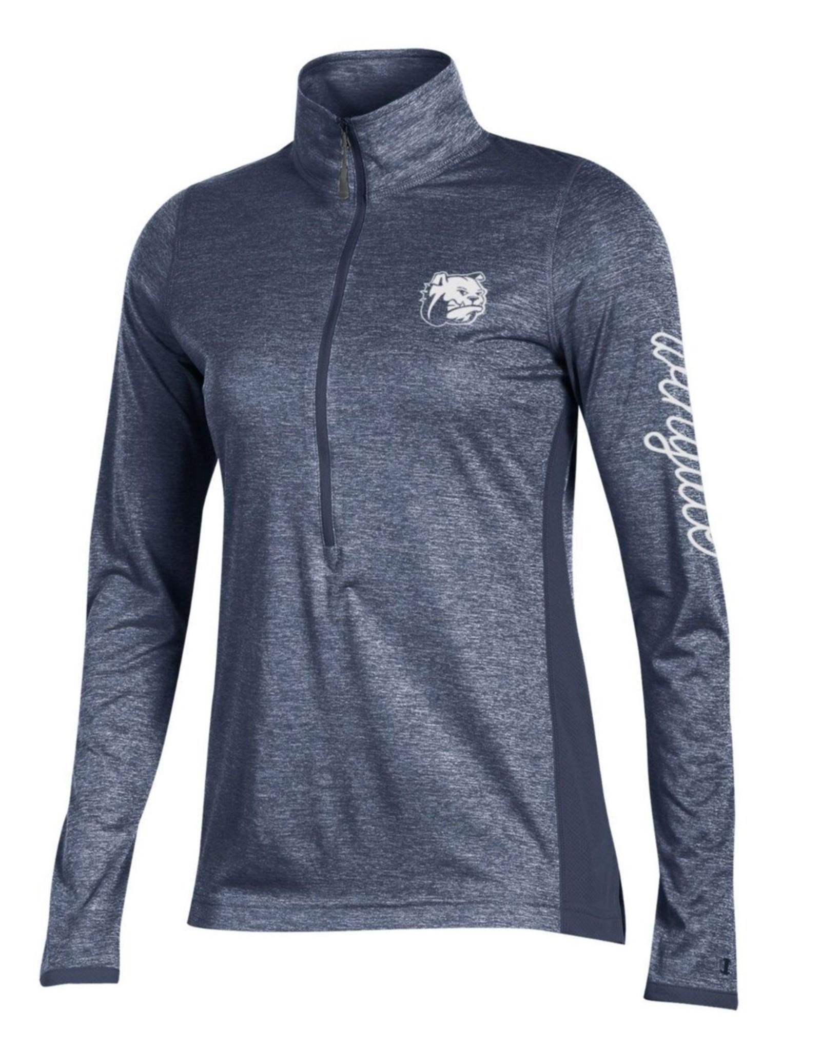 Ladies Marathon Navy 1/2 Zip