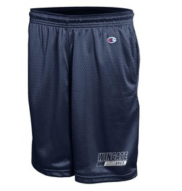 Navy Mesh Wingate Bulldogs Shorts