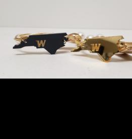 NC State Wire Bracelet