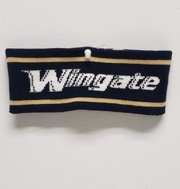 Navy Gold Ear Band Wingate
