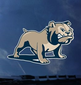 "CDI 3"" x 5"" Full Color Full Standing Bulldog Decal"