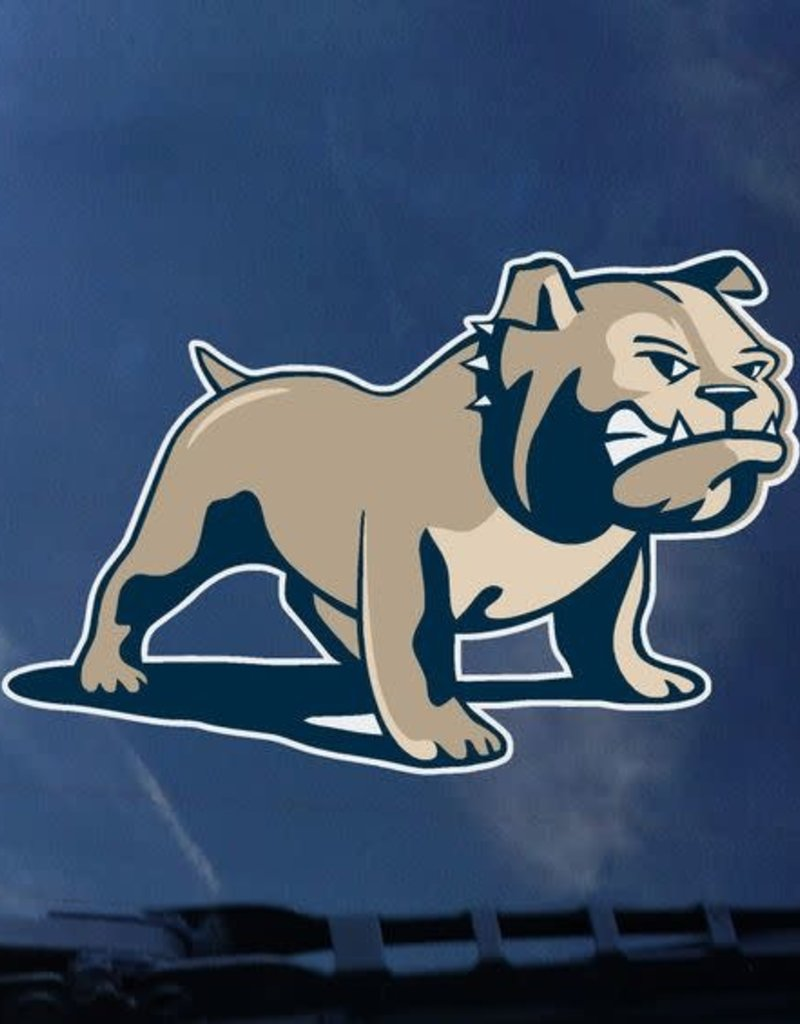 CDI 3x5 Full Color Full Bulldog Decal
