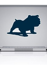 CDI 7x5 Full Bulldog Solid Navy Removable Decal