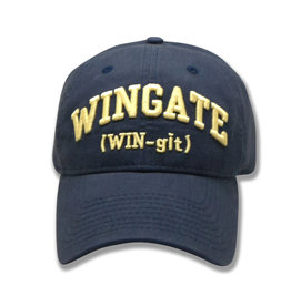 The Game Navy WIN-git Unstructured Adjustable Hat