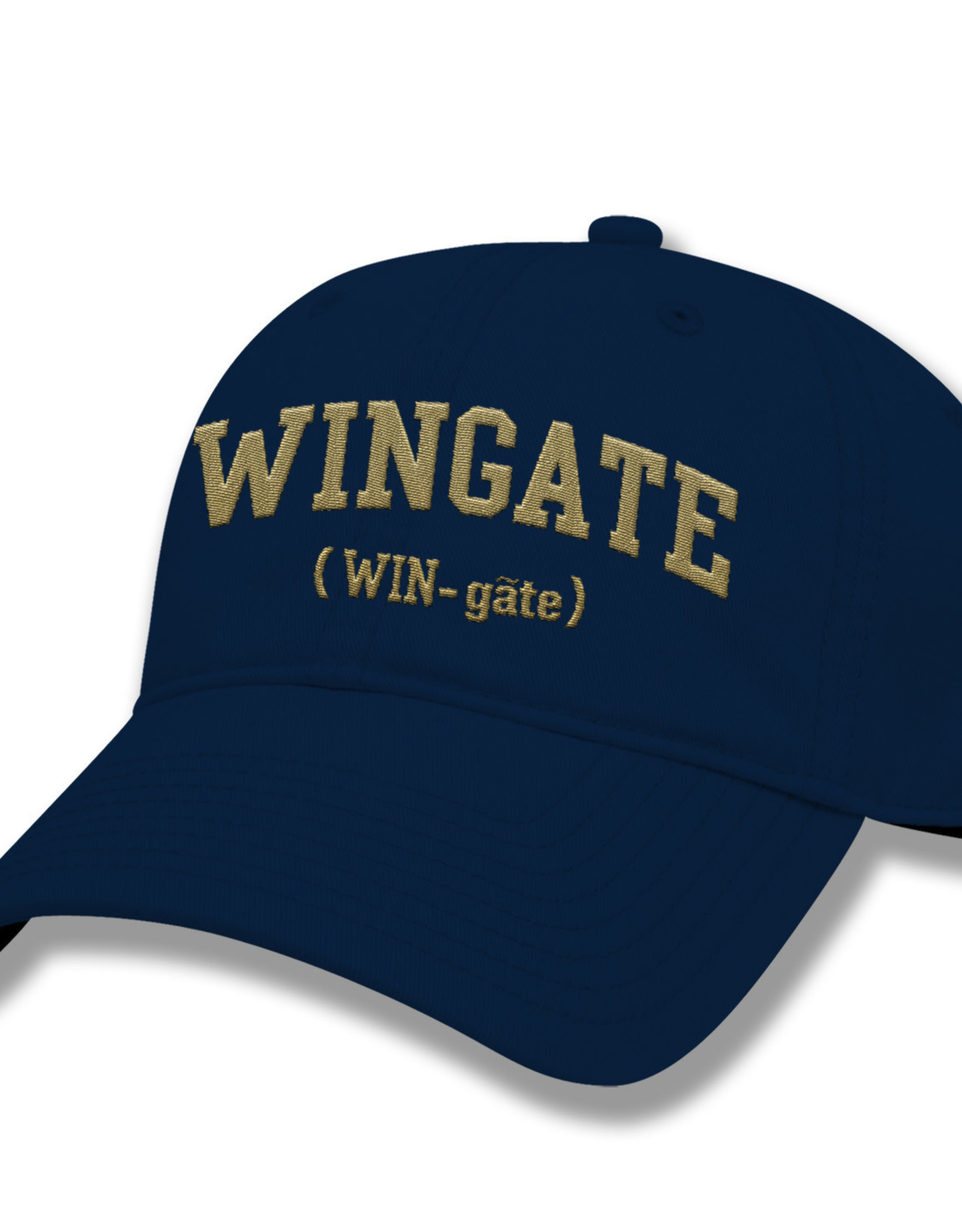 The Game Navy WIN-gate Unstructured Adjustable Hat