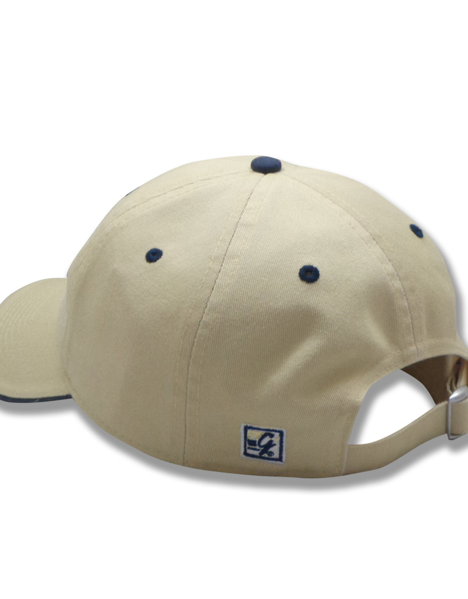 The Game Vegas Gold Wingate Bulldogs Bar Graph Unstructured Adjustable Hat