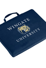 Logo Stadium Bleacher Seat Cushion Wingate Dog Head University