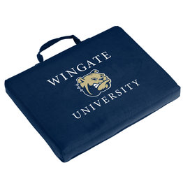 Logo Stadium Bleacher Seat Cushion Wingate Dog Head University