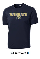 Navy Wingate Full Dog SS Tee