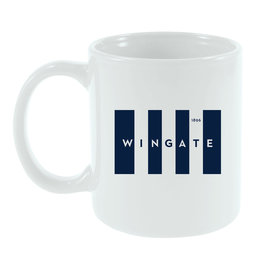 11oz Wingate Flag Cafe White Mug