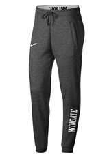 Nike Ladies Grey Roll Down Waist Rally Pants