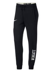 Nike Ladies Black Roll Down Waist Rally Pants
