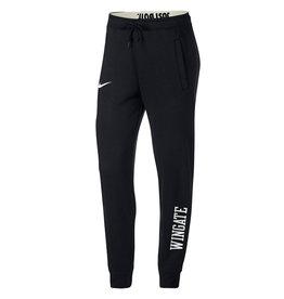 Nike Ladies Black Roll Down Waist Rally Pant