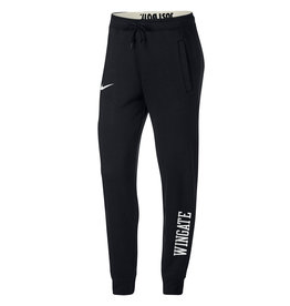 Nike Ladies Black Roll Down Waist Rally Pants