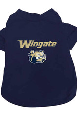 Jardine Navy Wingate Dog Head Pet Tee