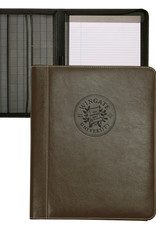 MCM Brown Genuine Leather New Seal Padfolio